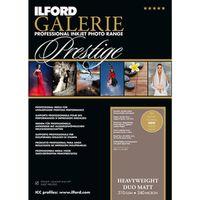 Für weitere Info hier klicken. Artikel: Ilford Druckerpapier GALERIE Prestige Heavyweight DUO Matt 25 Blatt A3