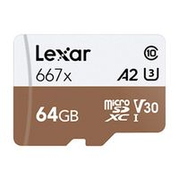 Für weitere Info hier klicken. Artikel: Lexar Professional, microSDXC 667x, Class 10, UHS-I, U3, A2, V30, 100MB/s 64 GB