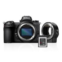 Für weitere Info hier klicken. Artikel: Nikon Z6 + FTZ Objektivadapter + 64GB XQD Karte