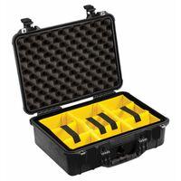 Für weitere Info hier klicken. Artikel: Peli Koffer 1504 mit Trennwand Set schwarz