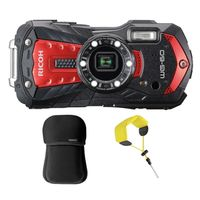 Für weitere Info hier klicken. Artikel: Ricoh WG-60 Kit mit Neoprentasche + Floating Strap rot