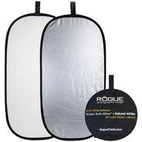 Für weitere Info hier klicken. Artikel: Rogue 2-in-1 Reflector 20x40 Zoll Silver/White