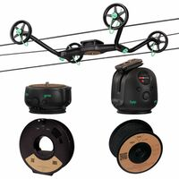 Für weitere Info hier klicken. Artikel: Syrp Slingshot 3-Achsen Cable Cam Epic Kit (100 m)