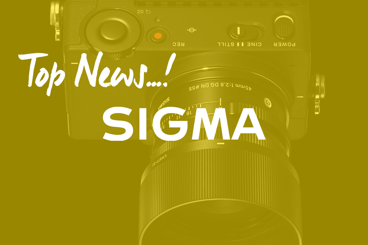 Die Top Neuheiten von Sigma