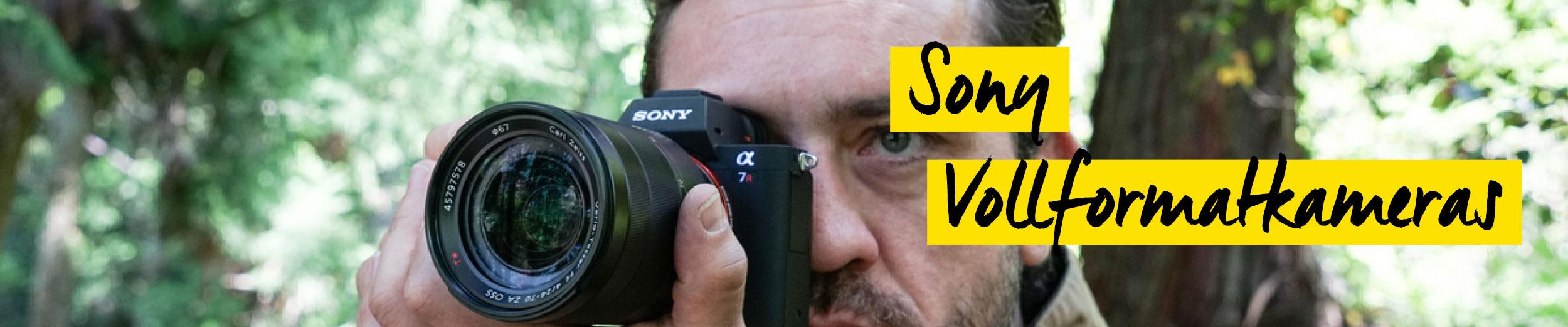 Sony Vollformatkameras