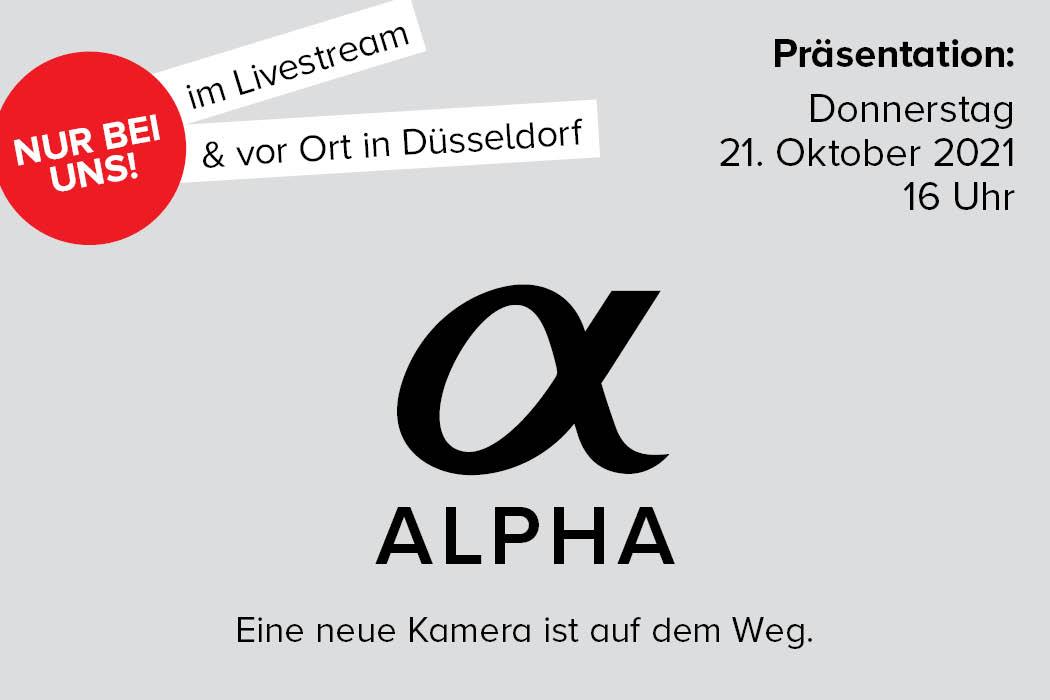 Sony Alpha Neuheiten Event