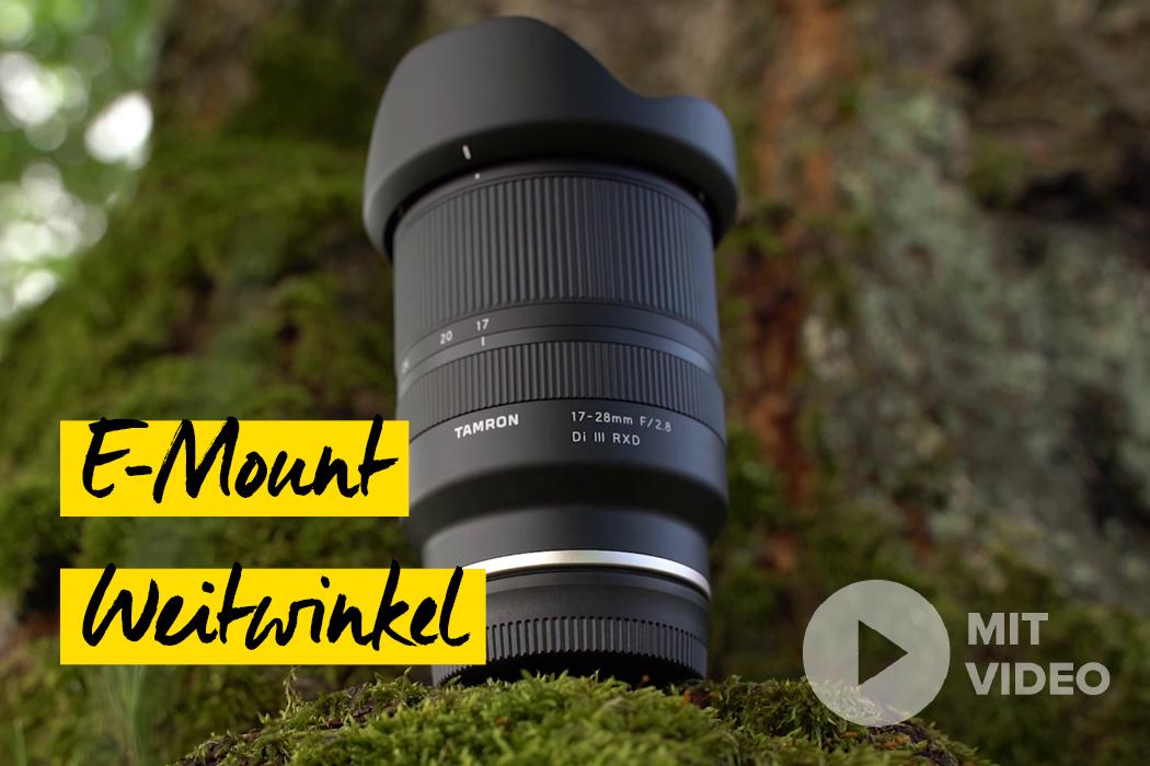 Objektiv Neuheit für Sony E Mount